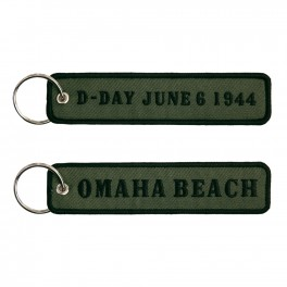 KEYCHAIN D-DAY OMAHA BEACH