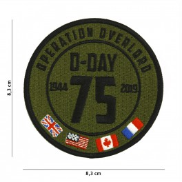 PATCH D-DAY 75 YEARS