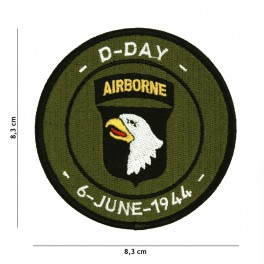 PATCH D-DAY 101ST AIRBORNE